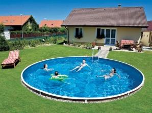 Nadzemní bazény Mountfield v akci