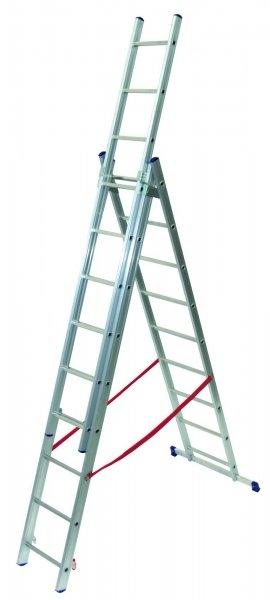 Hlinkový žebřík Facal 3x10, schodišťová úprava - Akce