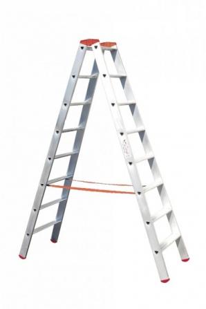 Venbos 2x7, profesionální hliníkové štafle
