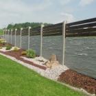 Betonové ploty – designové oplocení, které chrání