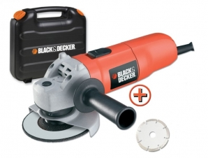 125 mm úhlová bruska Black&Decker KG725DD
