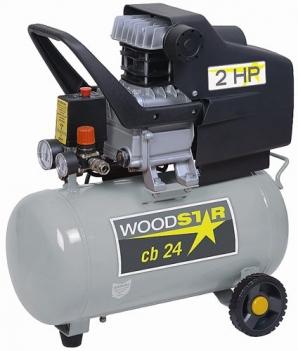 Kompresor Woodster CB 24 olejový v akci