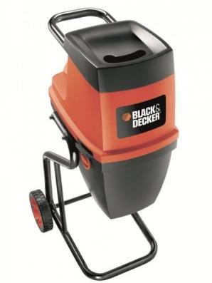 Akce drtiče a štěpkovače větví Black&Decker GS 2400