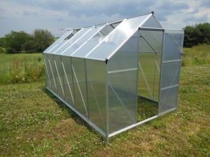 Levné zahradní skleníky - LanitPlast LanitGarden Plugin 6x8