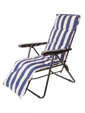Sleva - Happy Green Skládací a polohovací židle s polstrem