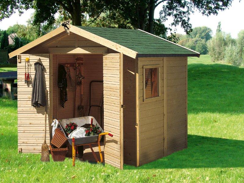 Dřevěné zahradní domky výprodej